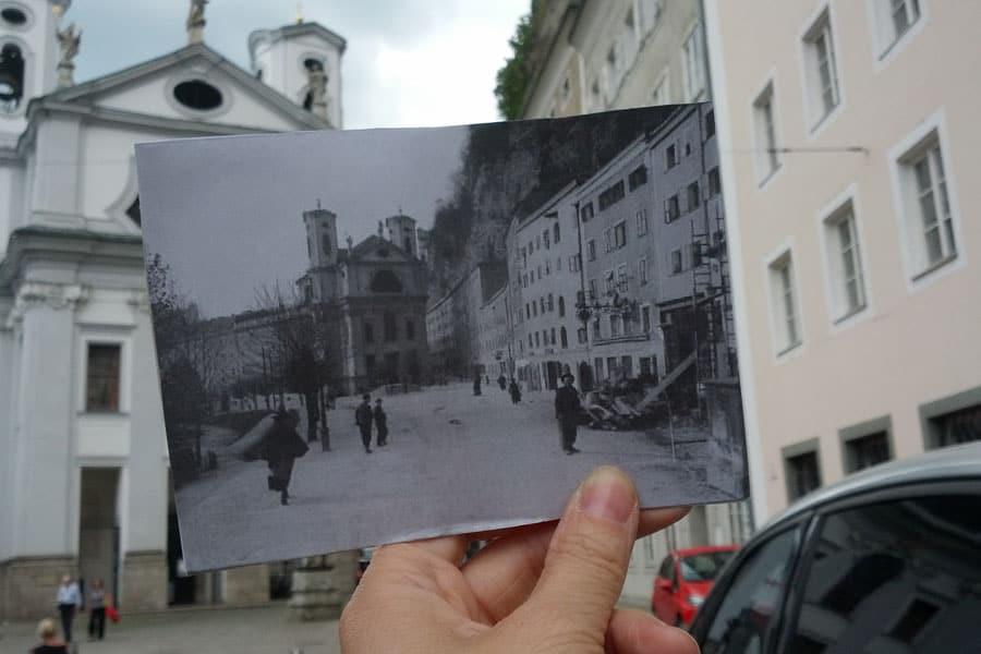 Salzburg-gestern-heute