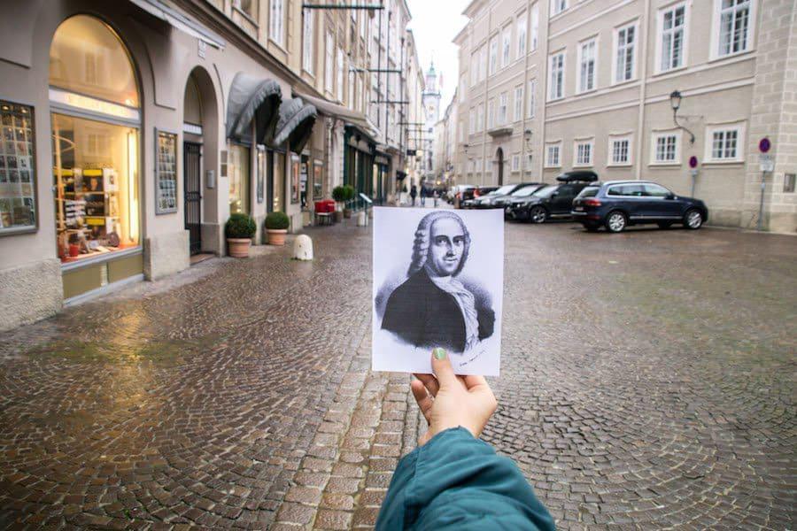 Die Sigmund-Haffner-Gasse in Salzburg