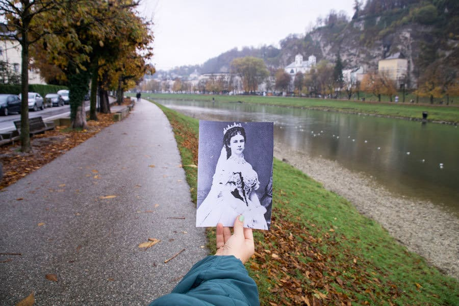 Der Elisabethkai in Salzburg