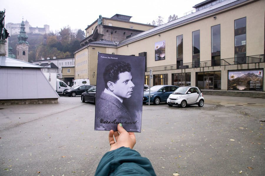 Der Max-Reinhardt-Platz in Salzburg