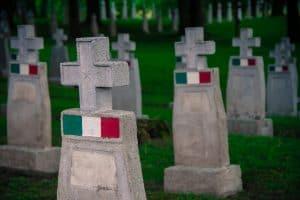 Der Russenfriedhof in Anif