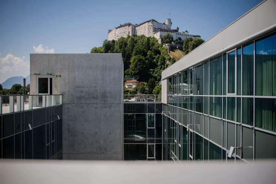 Dachterrasse des Uniparks Salzburg