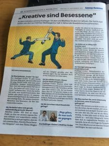 Bericht über Fräulein Flora in den Salzburger Nachrichten