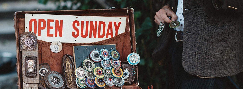 Sonntag-offen