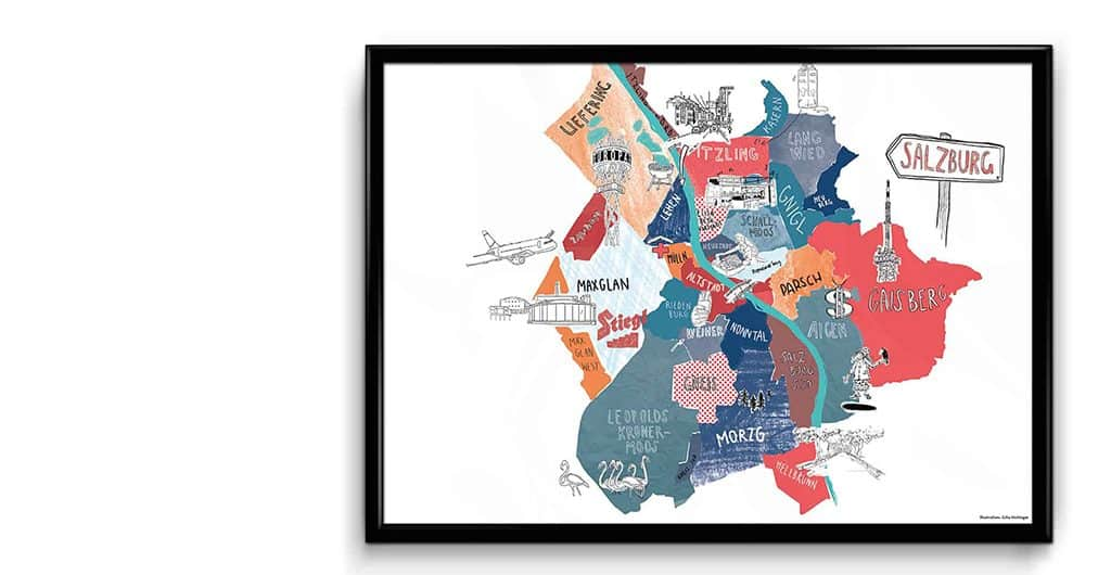 Stadtplan von Julia Aichinger