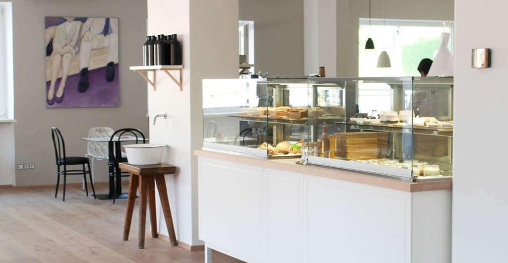 Das Café Schweiger Deli in Itzling