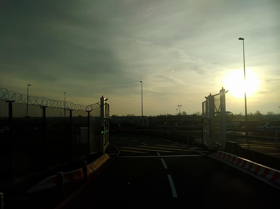Stacheldrah-Calais