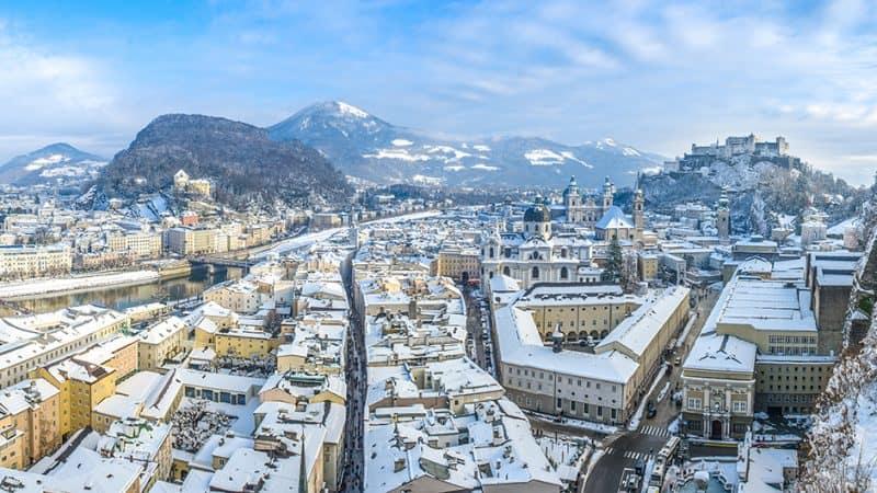 Salzburg Winter Panorama