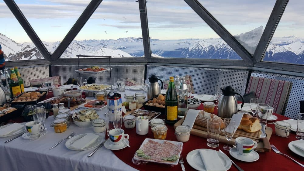 Gipfelfrühstück-Gastein