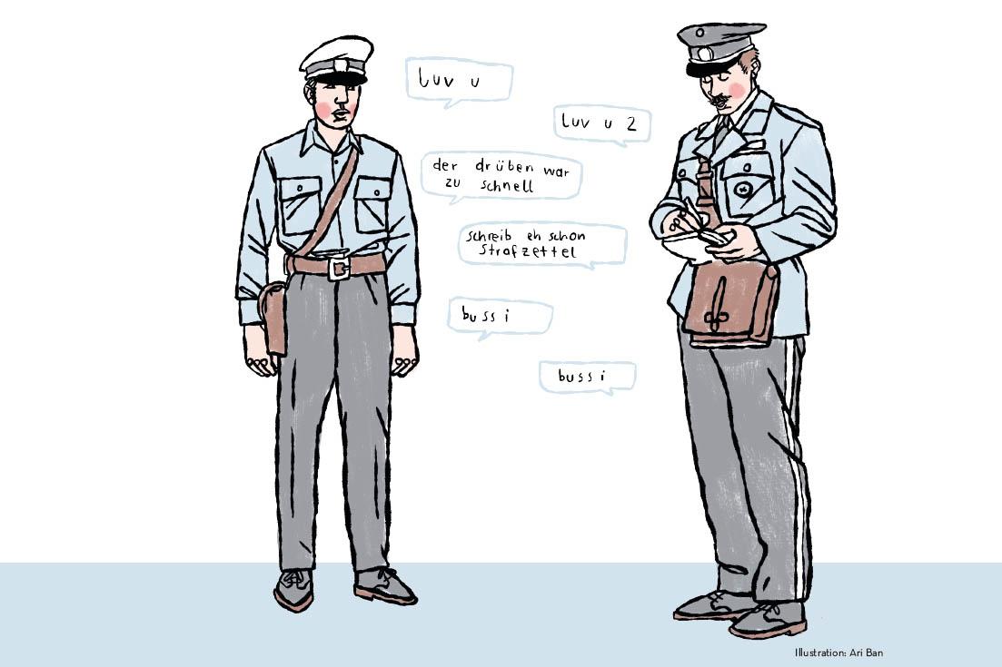 Die Polizei ist schwul