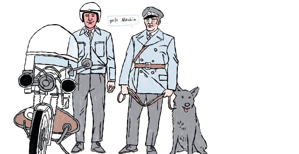 Die Polizei ist schwul_Titel Ari Ban