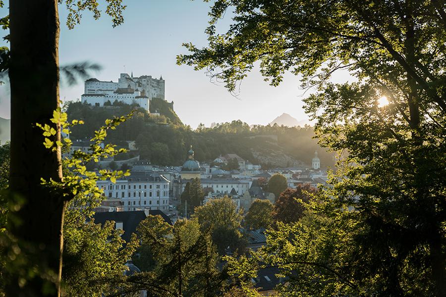Sonnenuntergang-Salzburg-Bürglstein