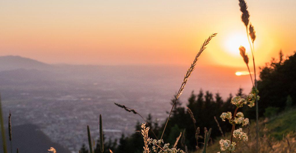Sonnenuntergang-Salzburg
