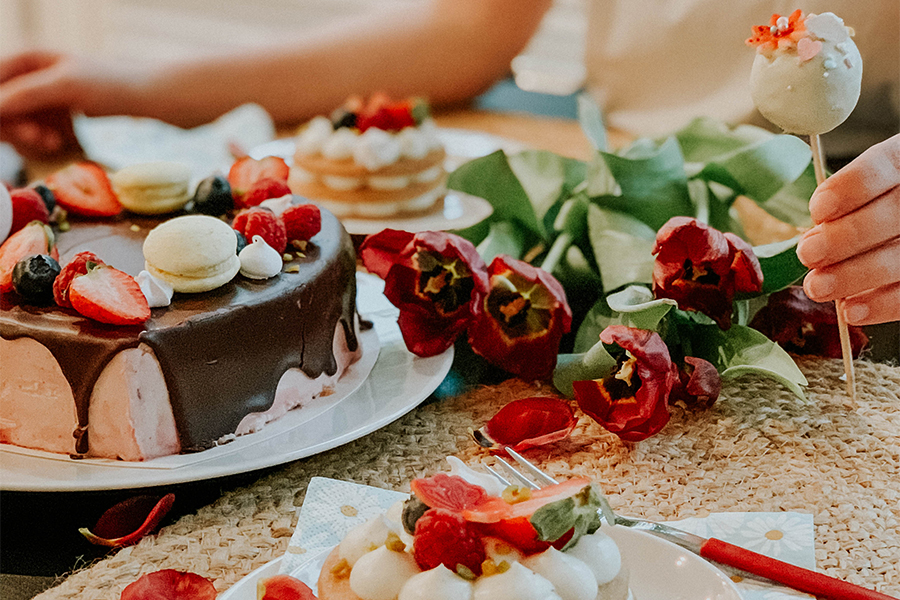 Muttertags Cake Box