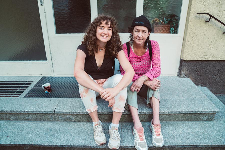 Die letzte Bergprinzessin und Veronika Ellecosta