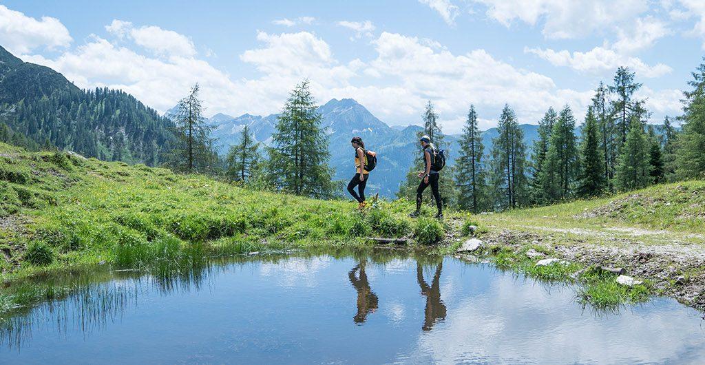 Bergtour auf den Lackenkogel in Flachau