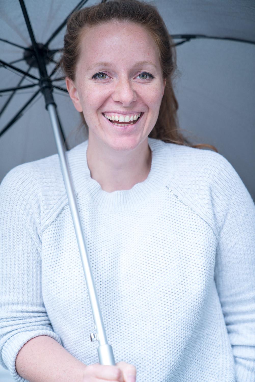 Foto von Eva im Regen in Salzburg