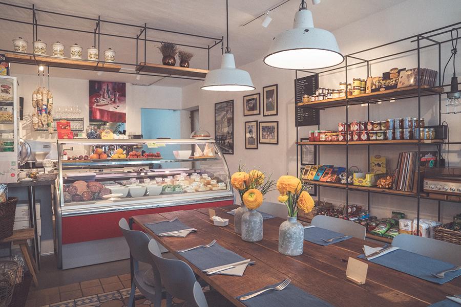 Bottega Mattilia Einkaufen in Hallein