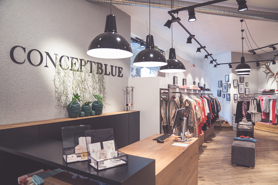 Skandi Mode im Concept Blue Shoppen in Hallein