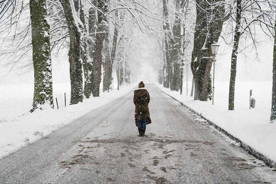 Advent in Mondsee Winter wandern