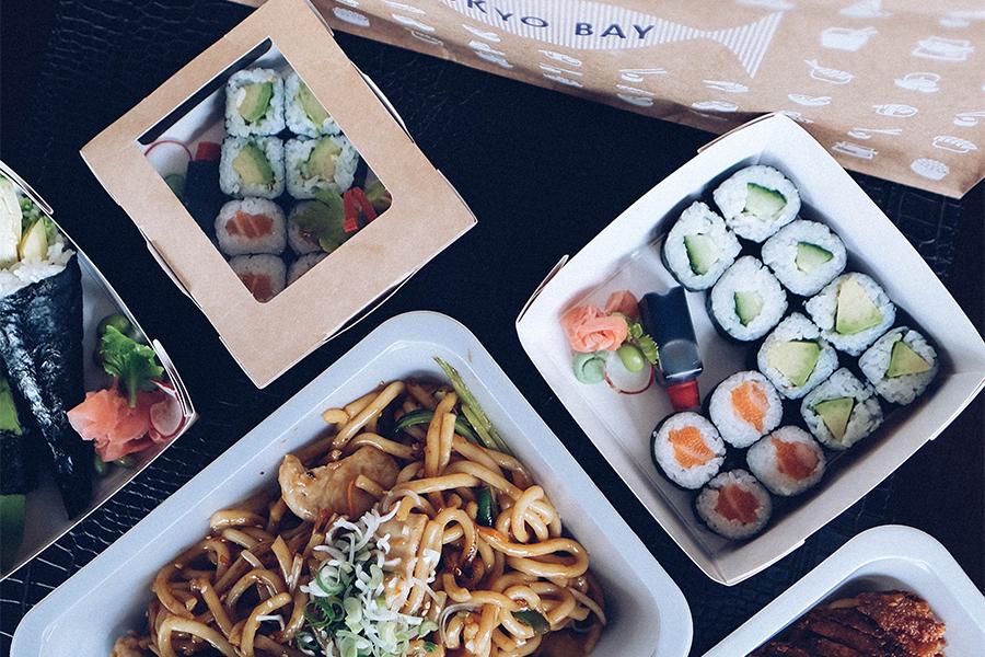 Sushi vom Tokyo Bay