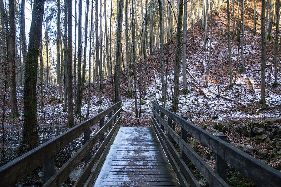 Winterwandern Teufelsgraben