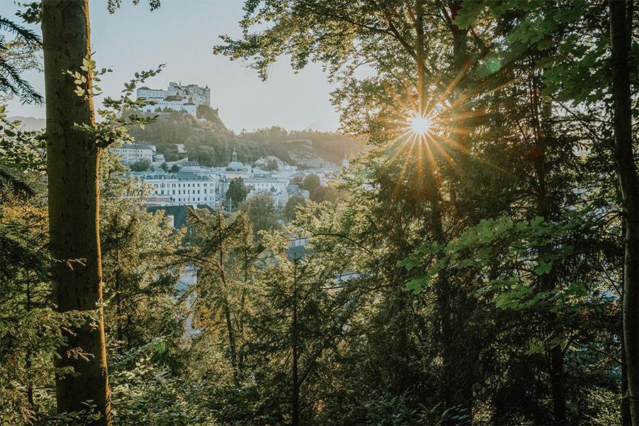 Sonnenuntergang Bürglstein