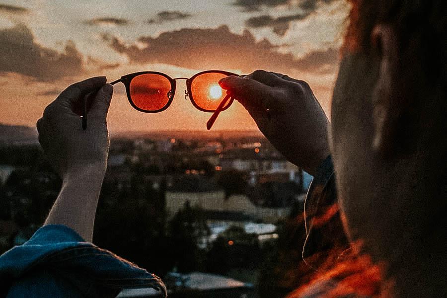 Sonnenuntergang Mönchsberg