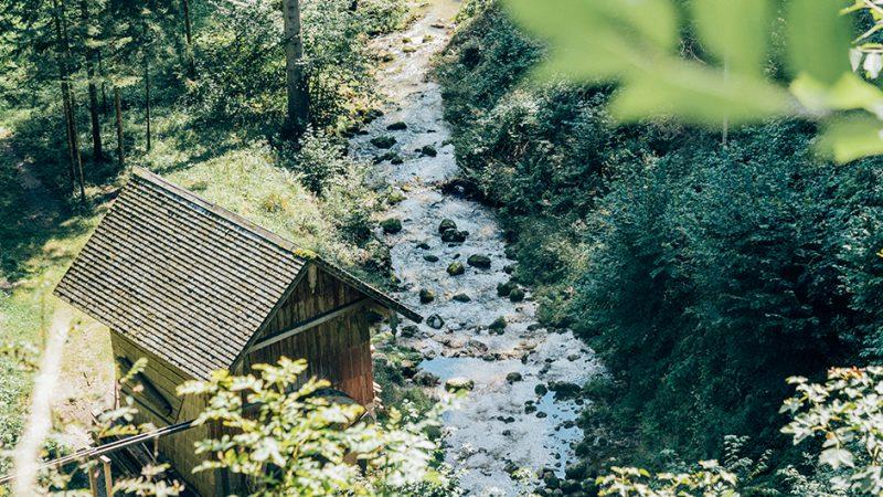 Ebenau-Plötz-Wasserfall