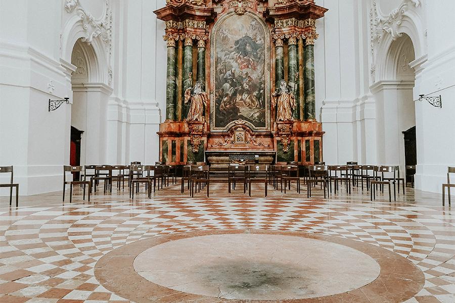 Rußfleck Kollegienkirche