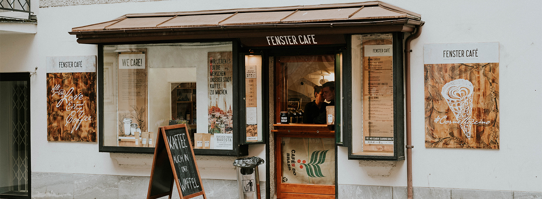 Fenster Café Salzburg